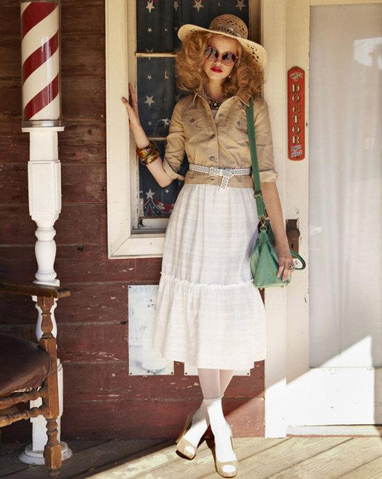 Модные юбки весна-лето 2011 (с фото) - какие они, какой длины, расцветки...