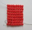Плотное прямое плетение бисером по кольцу поэтапно: - делаем кольцо из...
