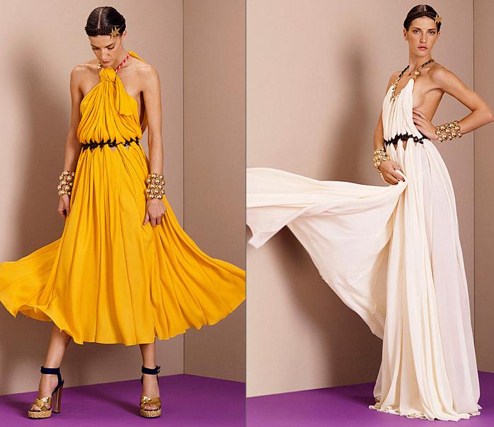вроде бы все фасоны платьев интересны по своему, но ничего так абсолютно...