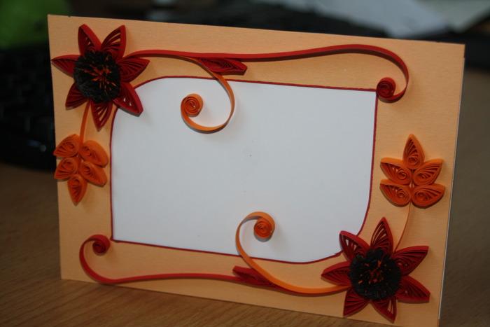 открытка рамка из бумаги каучуковые браслеты
