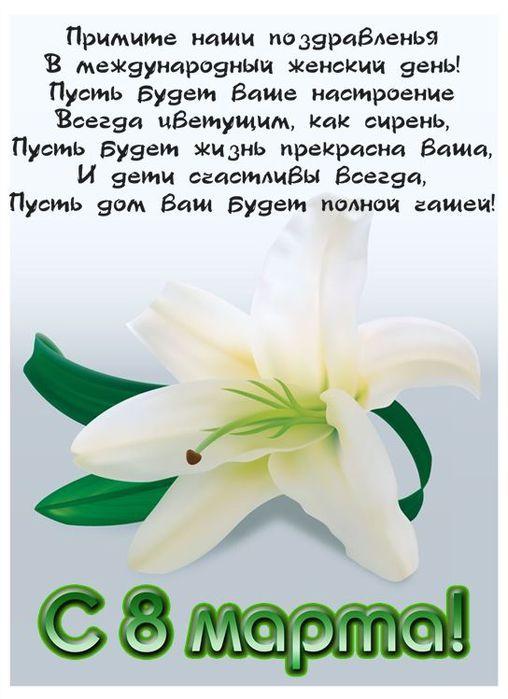 Шуточные стихи на 8 марта учителю