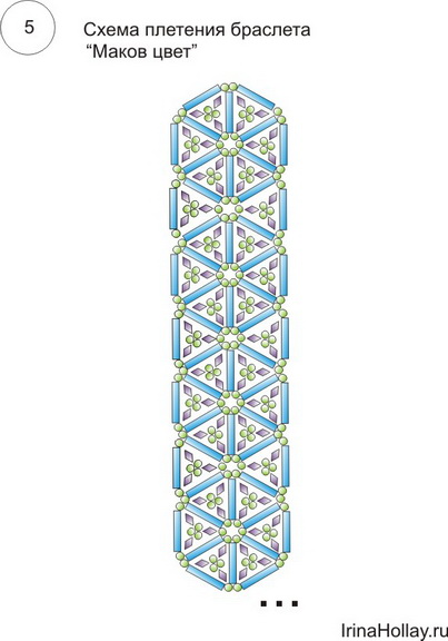 браслеты из бисера схемы плетения сердечек не объмные. тоделки из.