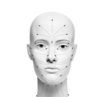 Во время массажа излишне не трите и не растягивайте лицо, чтобы не...