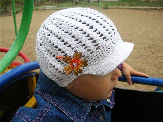 Описание: Вязание детские повязки на голову.