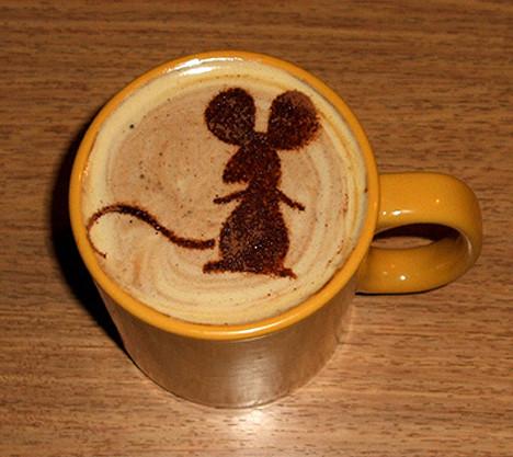 Ютуб видео мастер класс рисунки на кофе своими руками #4