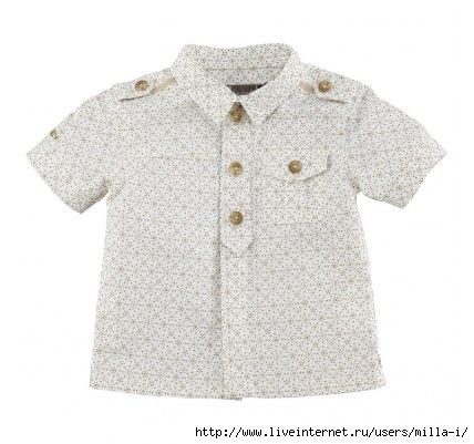 выкройка русской рубашки для мальчика.