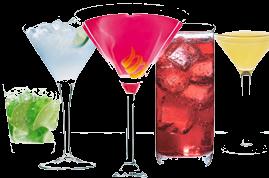 5 самых простых коктейлей.  Рецепты с Куантро.