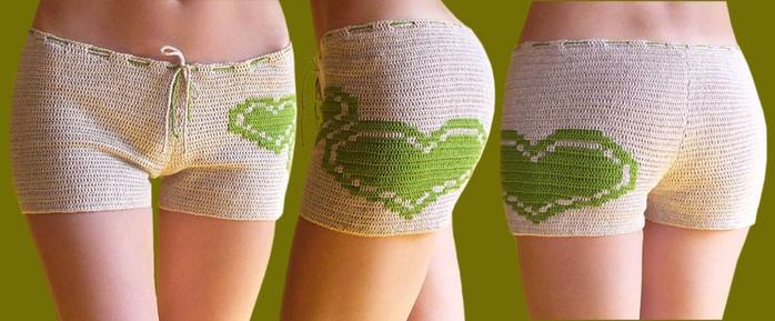 Вязание крючком, вязание крючком для детей ... шорты, брюки (4) юбки...