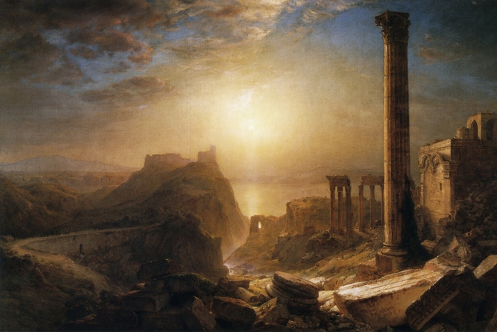 Frederic_Edwin_Church_(1826-1900)Syria_by_the_Sea_ _1873 Detroit Institute of Arts (700x467, 246Kb)