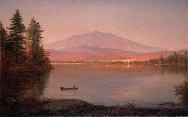 Frederic Edwin Church (1826-1900), Mount Katahdin from Millinocket Camp, 1895, Deutsch Portland Museum of Art (600x373, 31Kb)