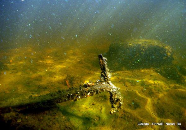 На дне рыбинского водохранилища фото