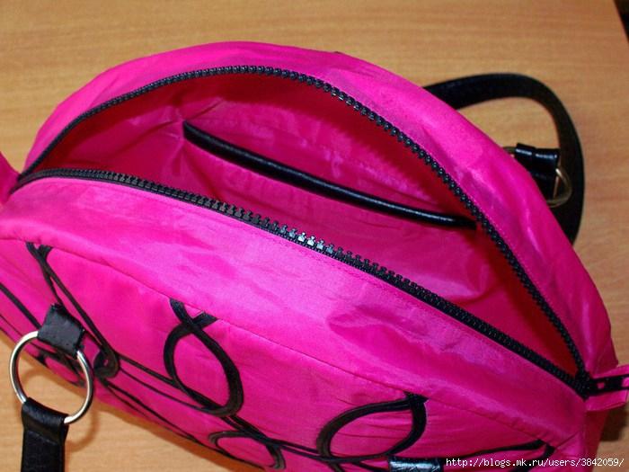а вам бы пришло в голову пошить сумку из зонтика? старый сломанные.