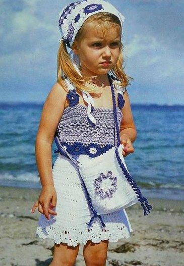 вязание крючком для маленьких детей.