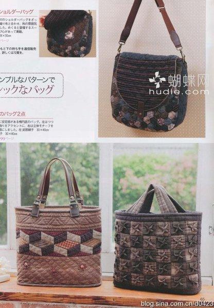 Лоскутное шитье 1. Японский журнал по лоскутному шитью.