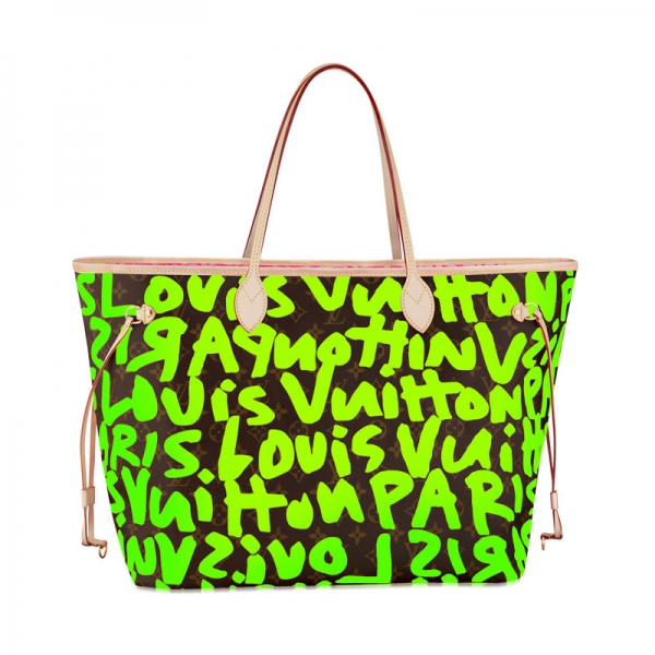 Louis Vuitton женские сумки и сумки Neverfull GM Зеленый M93