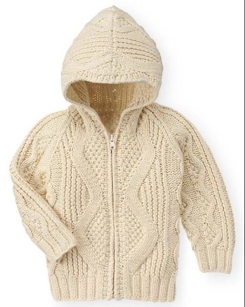 Вязаное пальто спицами с капюшоном. вязание спицами пуловер с капюшоном...