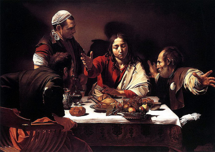800px-1602-3_Caravaggio,Supper_at_Emmaus_National_Gallery,_London (700x494, 152Kb)