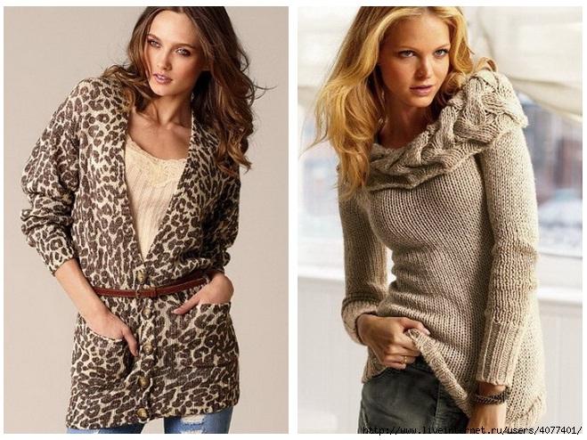 Что нам предлагают носить...  Стильные свитера - мода 2011 (фото).