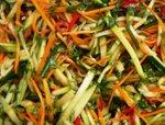 "Корейский салат ""Ве-ча "".  Ингредиенты."