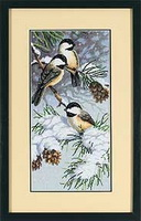 Dimensions 13673 Chickadees and Pinecones (128x200, 13Kb)