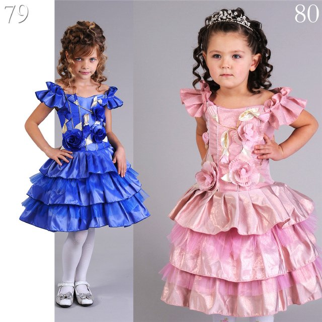 """Часть 2.  """"Часть 1. Часть 22 - Платья для маленьких принцесс. sohpia."""