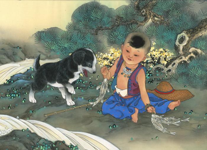Happy-Campers - year of dog - boy (700x509, 165Kb)