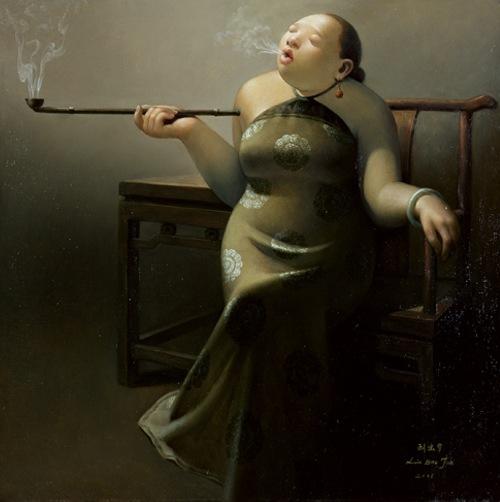 diptyque 39 s crossing ces dames qui fument par liu bao jun. Black Bedroom Furniture Sets. Home Design Ideas