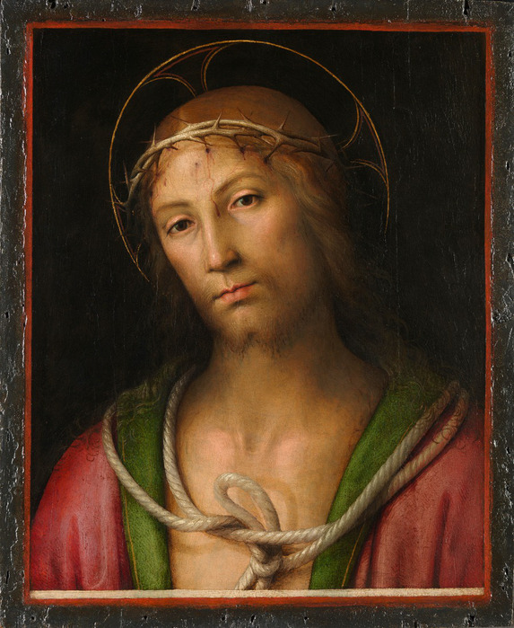 791f7de6671217278a125d05695fca77Pietro Perugino - Christ Crowned with Thorns (573x700, 150Kb)