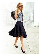 Описание: как быстро сшить юбку в пол - Мода и.