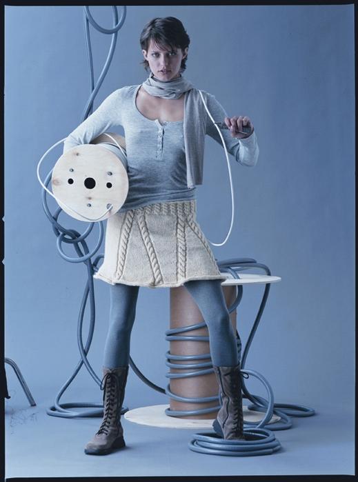 Описание: теплое вязаное платье крючком схема.