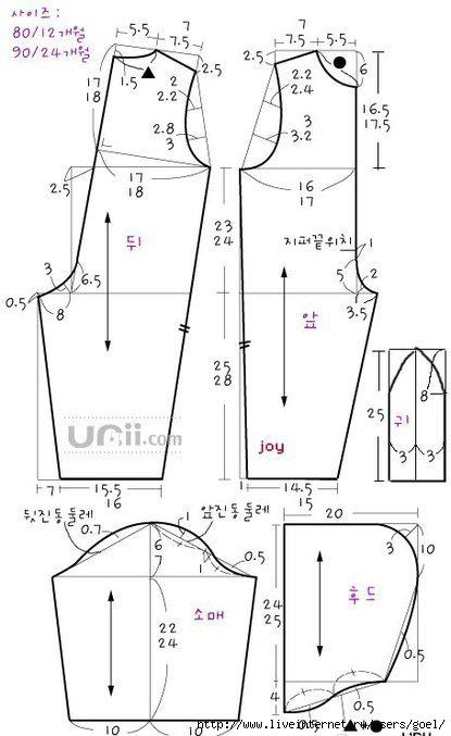 Выкройки детской одежды (комбинезон) morix01.ru