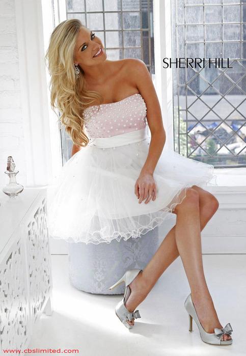 Выпускные платья Sherri Hill.