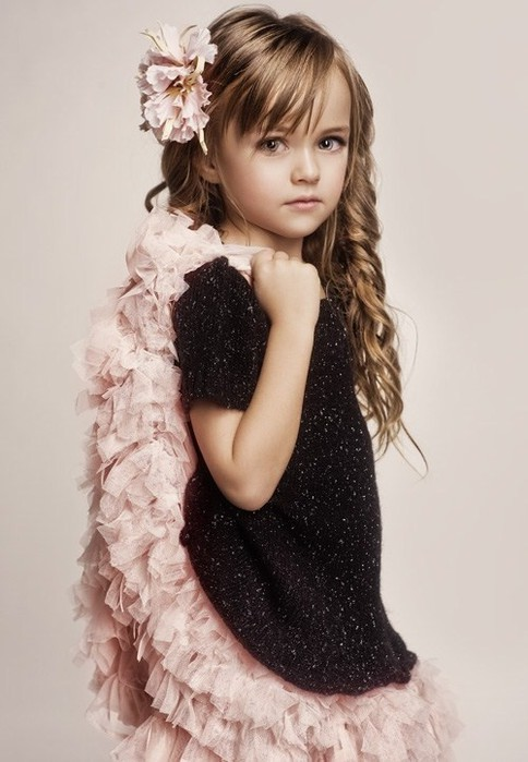 Моделька- Kristina Pimenova.
