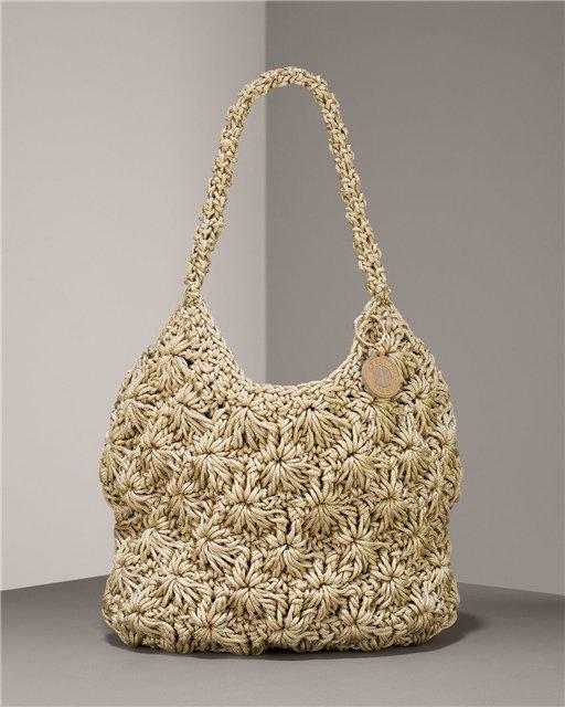 сумочка крючком схема - Сумки.