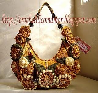 Крош сумка с цветами - ОРИГИНАЛ - Лилия.