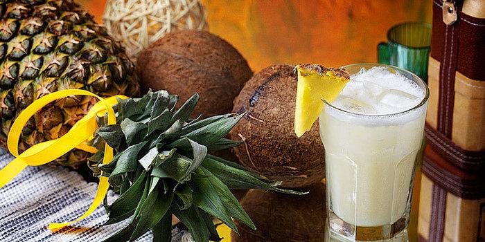 Гордость Пуэрто-Рико - коктейль с ананасовым соком и ромом - был рожден...