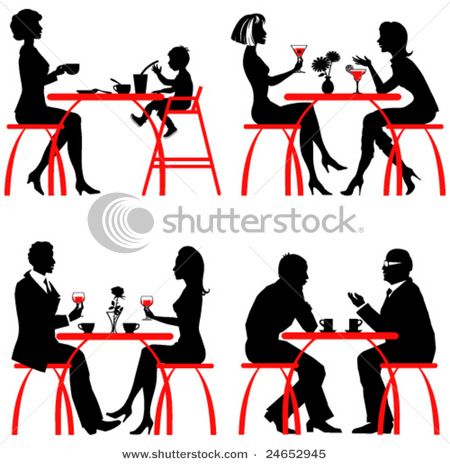 stock-vector-cafe-vector-silhouettes-24652945 (450x464, 72Kb)
