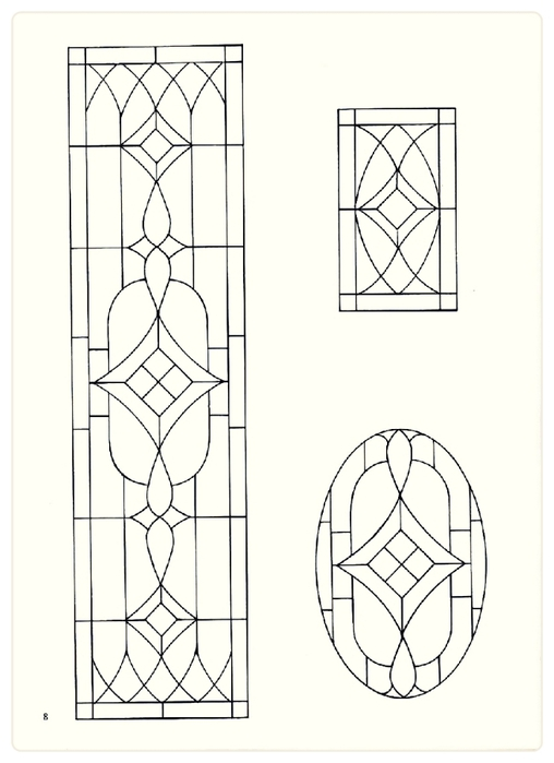Decorative Doorways Stained Glass - 08 (508x700, 130Kb)