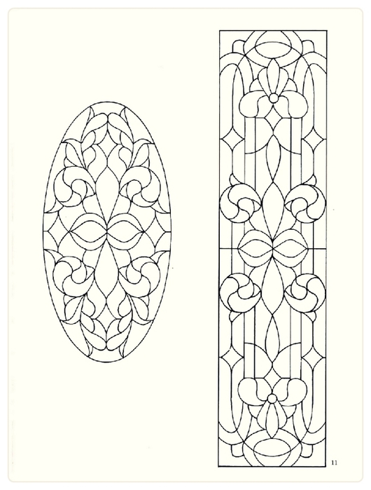 Decorative Doorways Stained Glass - 11 (530x700, 155Kb)