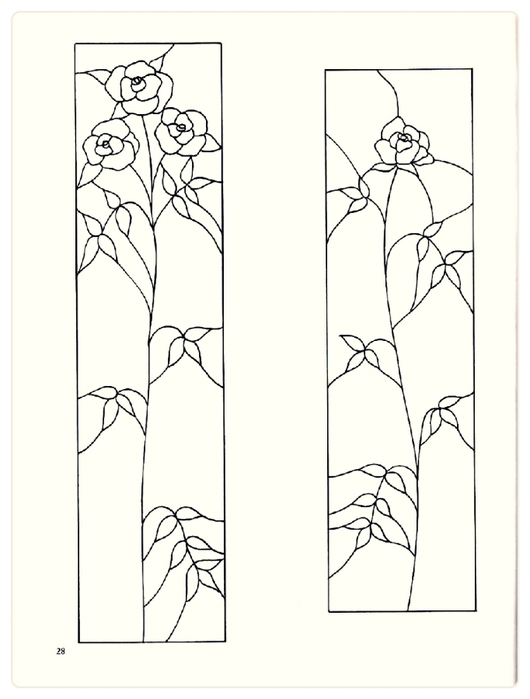 Decorative Doorways Stained Glass - 28 (530x700, 114Kb)