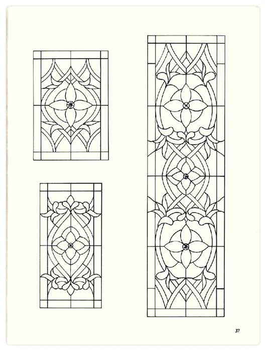 Decorative Doorways Stained Glass - 37 (530x700, 164Kb)