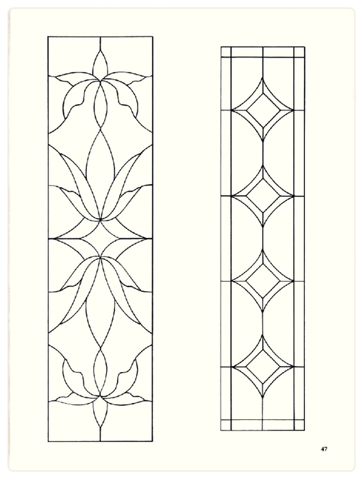 Decorative Doorways Stained Glass - 47 (530x700, 113Kb)