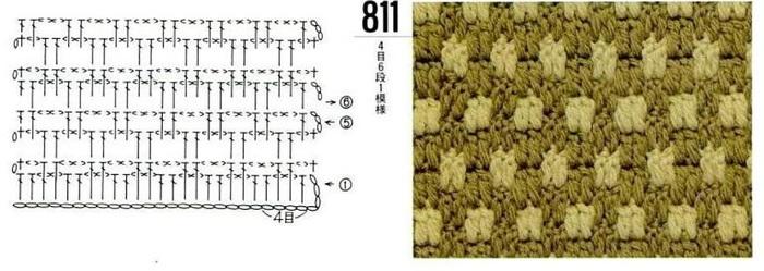 Схемы. цветные узоры для вязания спицами.