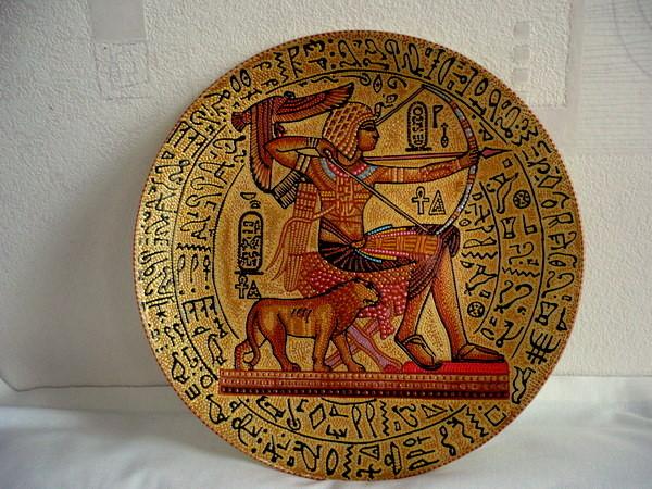 древний египет узор тарелка картинки можете