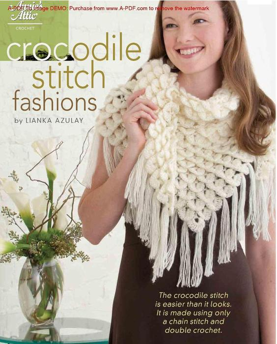 AA 871123 Crocodile Stitch Fashions_1 (564x700, 69Kb)