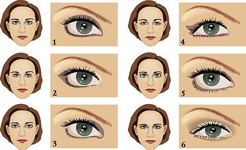 Поднятые уголки глаз макияж фото