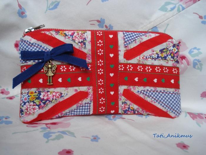 кошелёк с британским флагом - Клевые футболки, майки, толстовки.