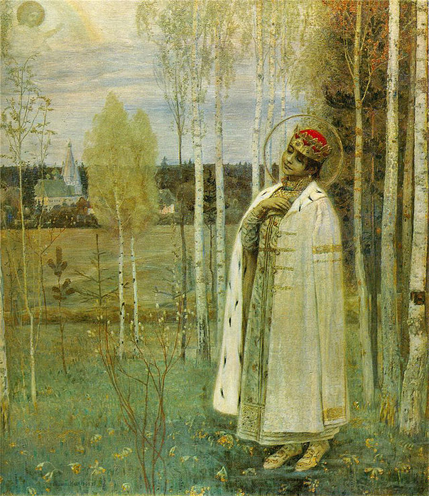 02 1899._Tzarevich_Dmitry_by_M._Nesterov (604x700, 627Kb)
