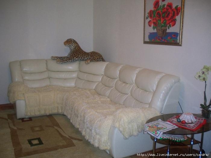 покрывало на угловой диванмоё вязание обсуждение на Liveinternet