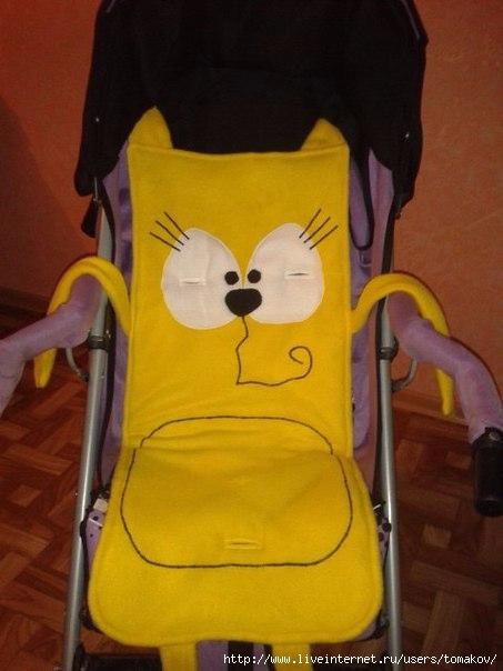 Детские коляски своими руками фото и выкройки